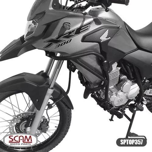 Protetor Motor Carenagem Com Pedaleira Xre300 Scam