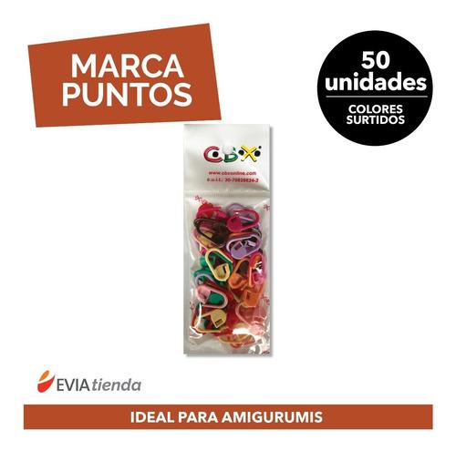 Marcapuntos 50 Unidades - Ideal Crochet Amigurumis