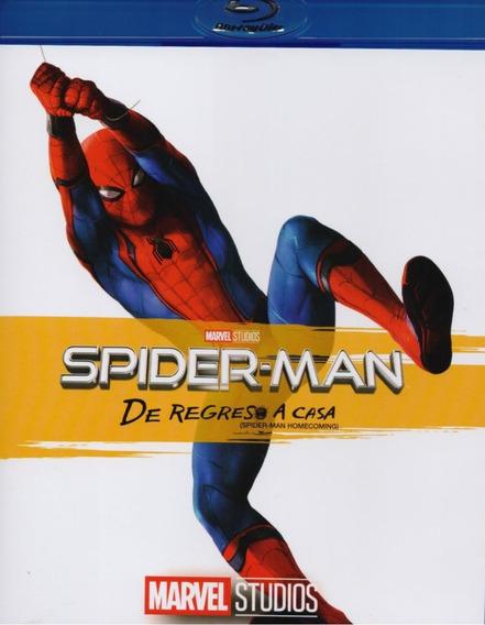 Spiderman Regreso A Casa Homecoming Marvel Pelicula Blu-ray