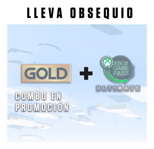 Xbox Live Gold Y Game Pass 1 Mes
