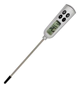 Termômetro Digital Tipo Espeto 300 Graus Com Alarme