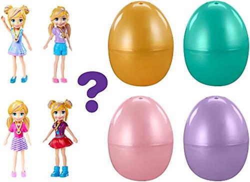 Imagen 1 de 3 de Surtido De Huevos Sorpresa Polly Pocket