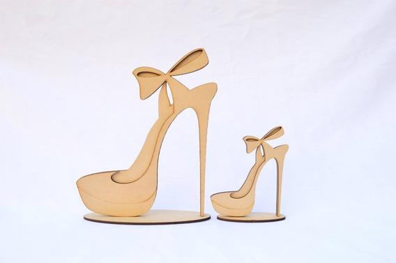 10 Souvenir Zapato Cumple 15 Años 18 40 50 Fibro