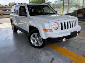 Jeep Patriot Limited Piel Quemacocos Dvd Gps Rin 18 2017