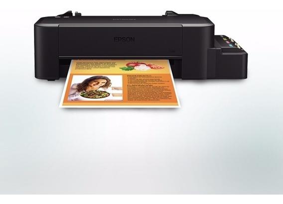 Impressora Epson L120 C/ Bulk + 160ml Tinta Corante