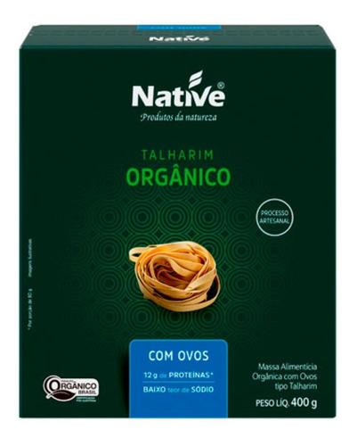 Imagem 1 de 1 de Talharim Orgânico Com Ovos 400g Native