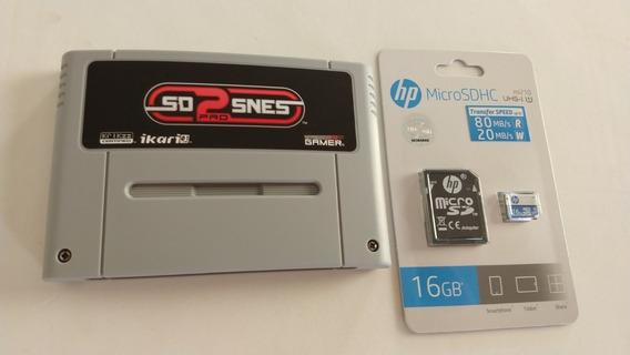 Everdrive Sd2snes Pro Original Krikzz Com Sd Card