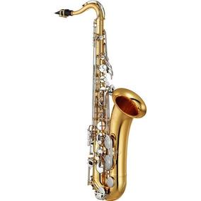 Sax Tenor Yamaha Yts26 C/ Case Nf E Garantia
