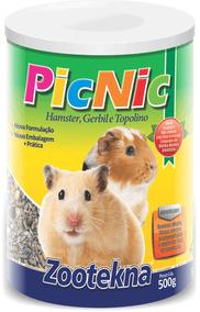 Pic Nic - Ração Para Hamster Especial