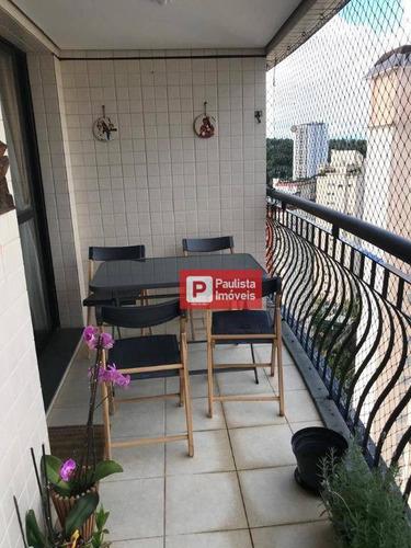 Apartamento Com 4 Dormitórios À Venda, 140 M² Por R$ 1.290.000,01 - Santo Amaro - São Paulo/sp - Ap32368