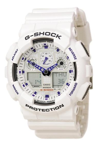Casio G Shock Ga100a7acu Reloj Caballero, Por Kronocity