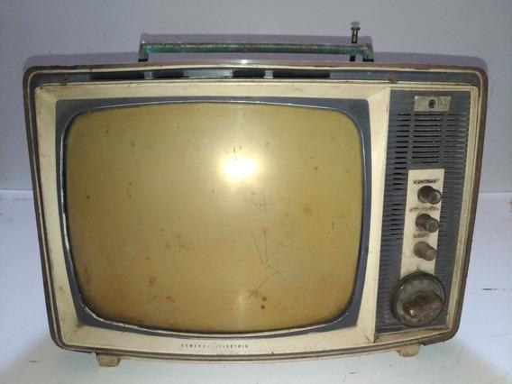 Tv General Electric Valvulado M112ybh Antigo