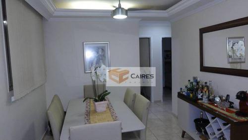 Imagem 1 de 15 de Apartamento Com 3 Dormitórios À Venda, 64 M² Por R$ 280.000,00 - Vila Industrial - Campinas/sp - Ap7880