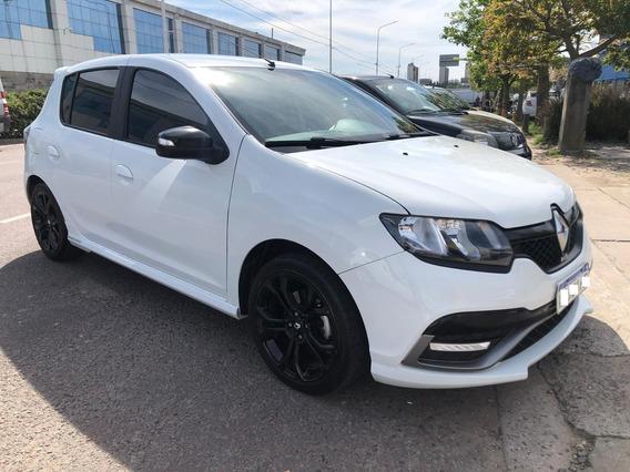 Renault Sandero Rs Motor 2.0 2018 Blanco 5 Puertas