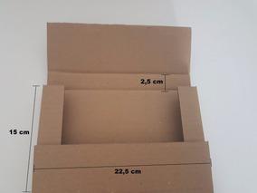 Caixa Papelão - Livro Dvd - Sedex Pac - 22x15x3 - 150 Und