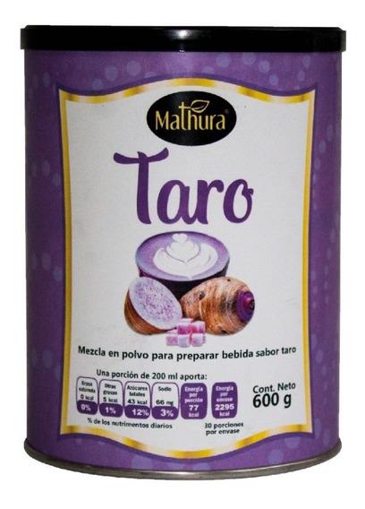 Taro En Polvo 1 Lata De 600g Marca Mathura