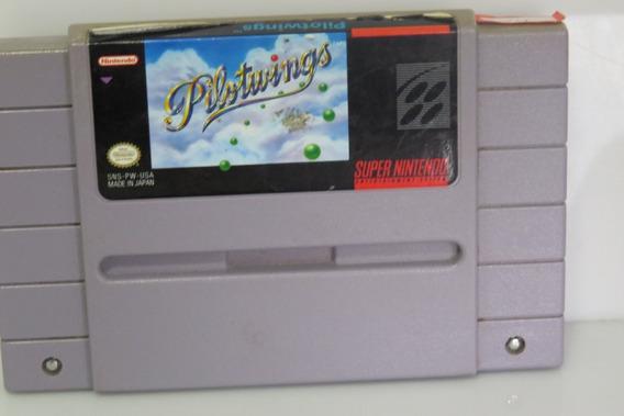 24 Pilot Wings Snes Original Super Nintendo
