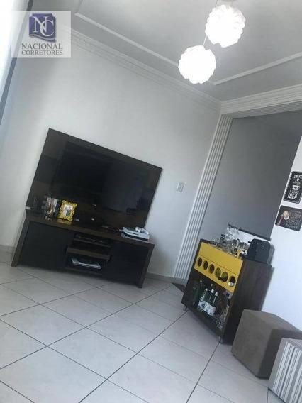 Sobrado À Venda, 95 M² Por R$ 430.000,00 - Parque Das Nações - Santo André/sp - So3370