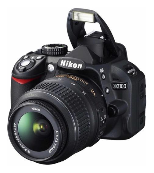 Câmera Nikon D3100 + Bolsa + Carregador