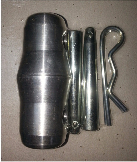 Combo Coupler + Pin + Cupillas Aluminio Estructura Truss