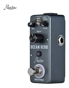 Rowin Oceano Verb Digital Reverb Guitar Effect Pedal 3 Modos