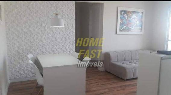 Apartamento Com 2 Dormitórios À Venda, 61 M² Por R$ 370.000,00 - Vila Endres - Guarulhos/sp - Ap1626