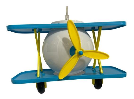 Candil Decorativo Infantil Avión 40w Ad-5217 Adir