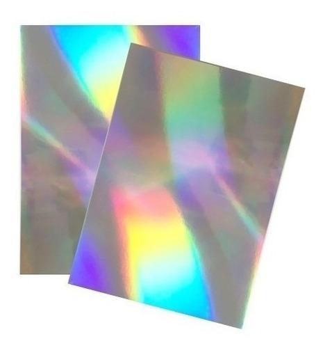 Imagen 1 de 1 de Par Laminas De Cartulina Holografica 55x71cm 315194