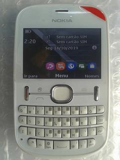 Celular Nokia Asha 200 Desbloqueado Semi Novo Promoção