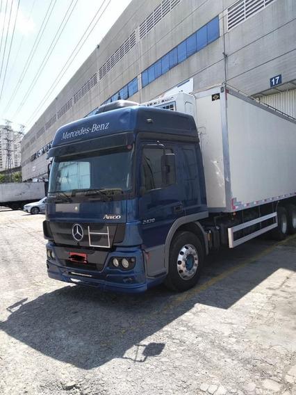 Mb Atego 2430 / 2018 Câmara Fria R$ 250.000,00 No Chassis