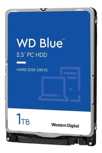 Imagen 1 de 4 de Disco duro interno Western Digital  WD10SPZX 1TB azul