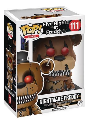 Pop Funko Five Nights At Freddy's - Nightmare Freddy
