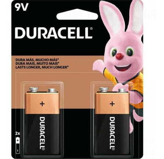 Bateria 9v Alcalina (caixa C/24 Baterias)(cartela C/2 Bater