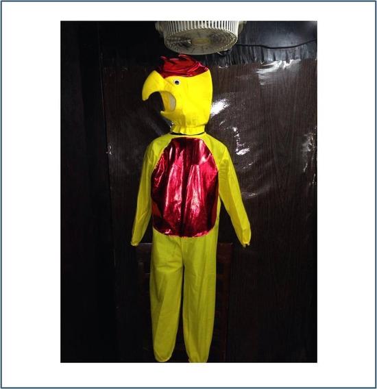 Disfraz De Pollo Para Niño Talla # 4 6 8 Y 10 R