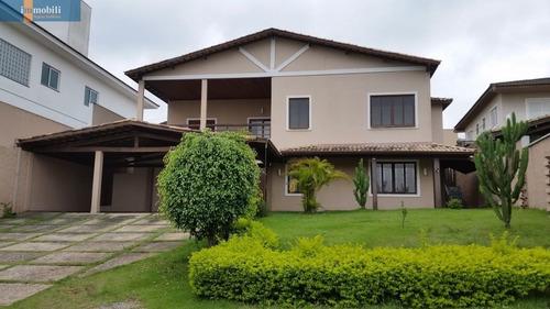 Imagem 1 de 15 de Sobrado Em Condomínio Bem Localizado Na Granja Viana - Gv19348