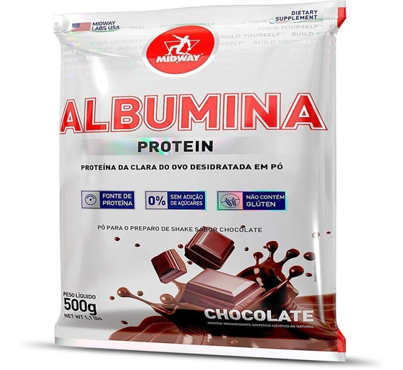 Albumina 500 G - Chocolate
