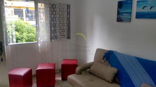 Imagem 1 de 12 de Apartamento Com 1 Dorm, Canto Do Forte, Praia Grande - R$ 180 Mil, Cod: 2052 - V2052