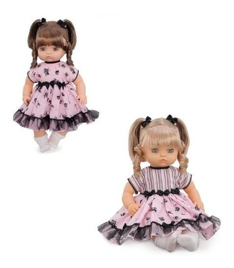 Coleção Bonecas Realista Baby Tipo Bebê Reborn Cabelos Real