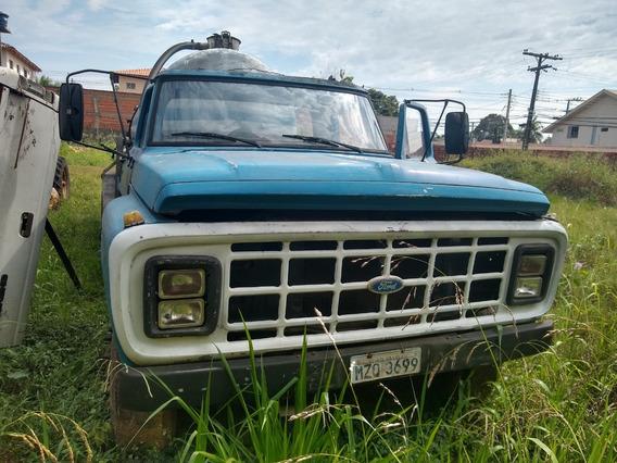 Caminhão Pipa - Ford - 10 Mil Litros Auto Recarregável