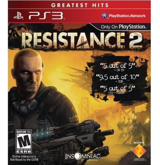 Resistance 2 Ps3 (novo, Lacrado, Original, Mídia Física)