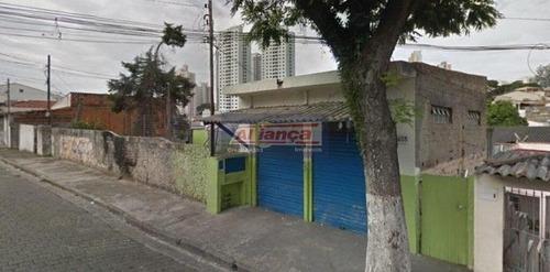 Terreno À Venda, 788 M² - Vila Moreira - Guarulhos/sp - Ai12044