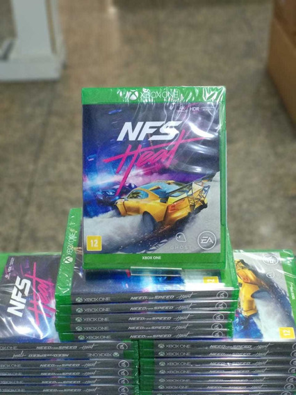 Jogo Need For Speed Heat Xbox One Novo Midia Física Lacrado