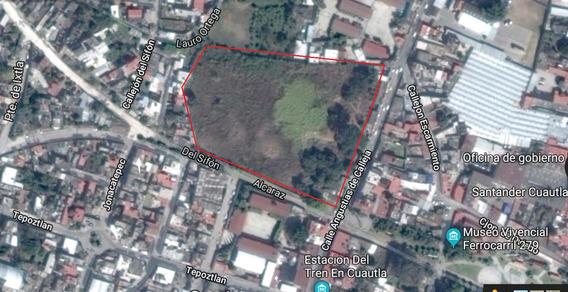 Terreno Comercial En Venta, Cuautla Oct-105