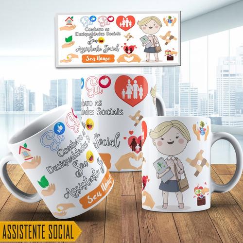 Caneca Presente Assistente Social 2
