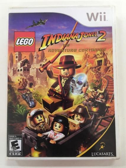Lego Indiana Jones 2 Nintendo Wii