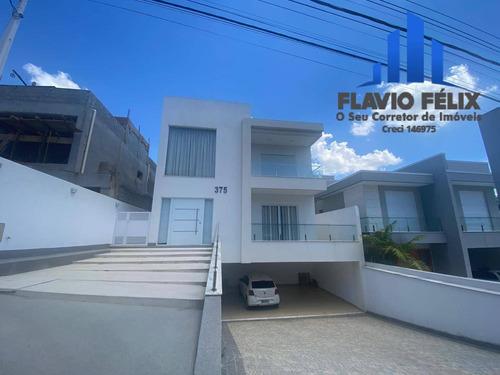 Imagem 1 de 15 de Casa A Venda Condomínio Real Park Arujá Com 3 Suítes E 6 Vagas - 735