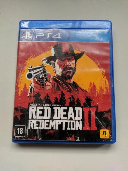 Red Dead Redemption 2 Ps4 Usado Original Campinas