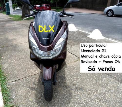 Honda Pcx Dlx 150 Pagar & Andar Sem História