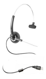 Headset Filetron Usb / Stile Compact / Voip / Skype Seminovo