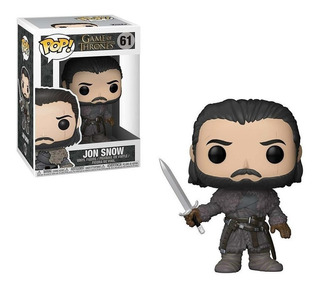 Funko Pop Jon Snow 61 - Game Of Thrones - Original Nuevo